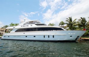 101' used hargrave yacht sale florida la dolce vita