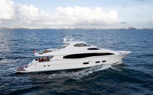 used 116' lazzara yacht sale florida