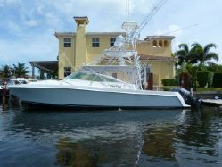 This 38' Contender is ready to fish!