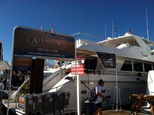 AYS at fort lauderdale Boat show 2014