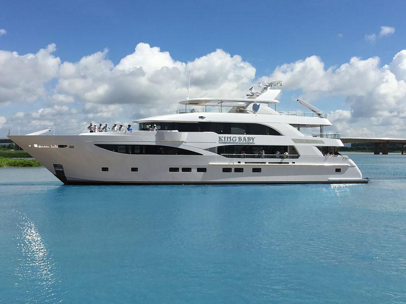 140' IAG Yacht - King Baby