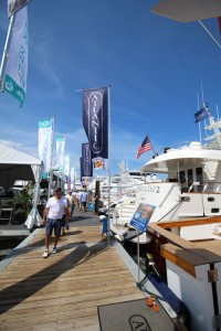 AYS on display on Ramp 2 at the Palm Beach Boat Show