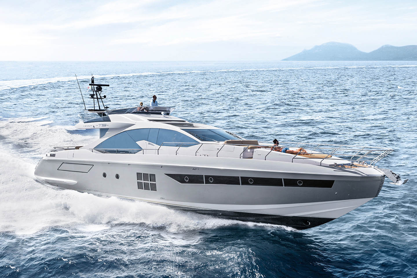 Azimut Yachts Full Screen Picture