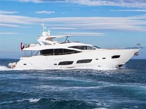 used 92' Sunseeker yacht for sale