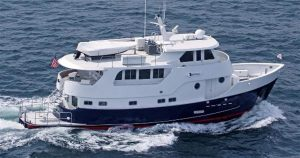 used 70' real ships trawler yacht for sale florida