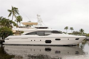 used 69' ferretti yacht sale florida