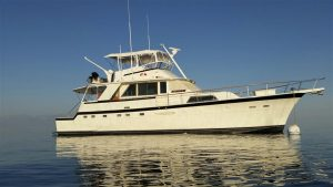 used 58' Hatteras yacht for sale in florida