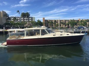 used 40' mjm for sale boat florida pre owned 40z