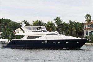 used 72' uniesse yacht sale florida usa united states