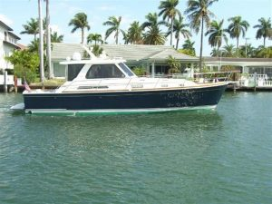 used 42' sabre yacht sale florida
