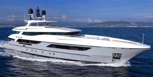 used 152' baglietto yacht sale