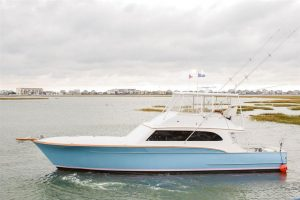 used 61' buddy davis yacht sale