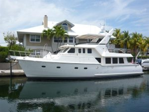 used 57' Nordhavn yacht for sale in florida