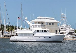 used 57' nordhavn yacht sale florida