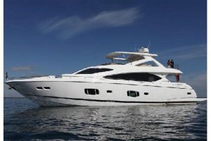 fort lauderdale boat show used 88' sunseeker