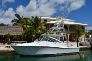 used 35' cabo yacht sale florida