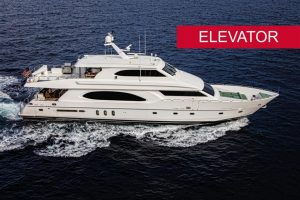 used 96' fort lauderdale boat show hargrave yacht sale