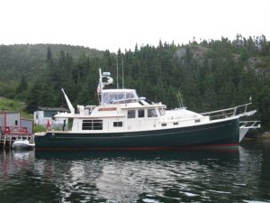 used 53' krogen express yacht sale florida