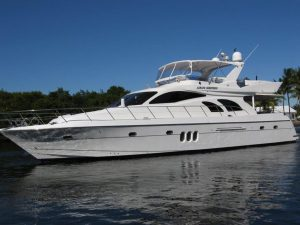 used 66' grand harbour yacht for sale in florida
