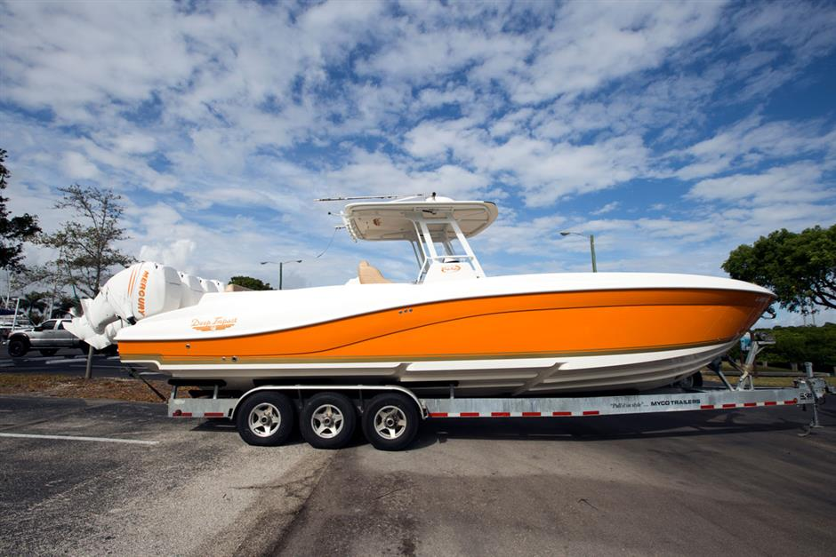 Check Out This Sexy Used 36 Deep Impact Boat For Sale In Florida
