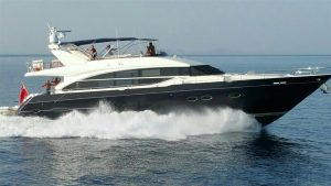 used 82' princess yacht for sale