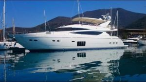 used princess 85 yacht for sale in europe