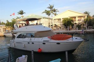 used 46' meridian yacht for sale in florida