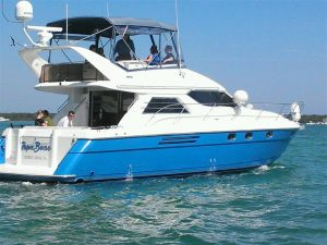 used 48' Viking yacht for sale in florida