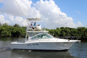used 33' rampage boat for sale in florida