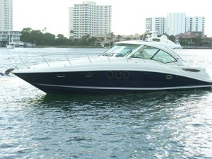 used 48' sea ray sundancer yacht sale florida