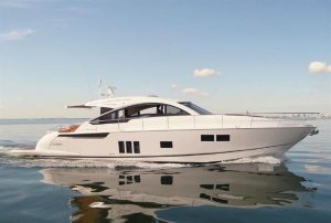 used 62' fairline 2013 yacht sale florida
