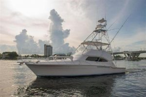 used 57' bertram yacht for sale in florida