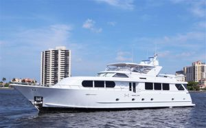 used 100' broward yacht for sale in palm beach florida