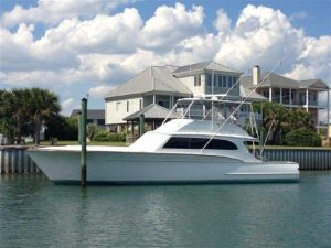 used 61' buddy davis yacht for sale