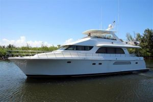 used 68' fort lauderdale boat show cheoy lee 2005 yacht sale florida