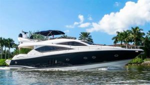 used 75' sunseeker yacht for sale in florida