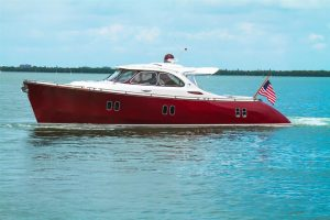 used 44' zeelander yacht for sale in florida usa