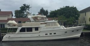 used 60' grand alaskan yacht for sale in fort lauderdale florida