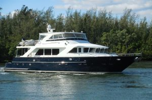 used 82' jefferson yacht for sale in florida