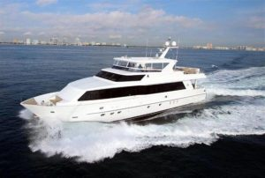 pre-owned 101' hargrave yacht for sale in florida