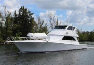 used 61' viking yacht for sale in florida