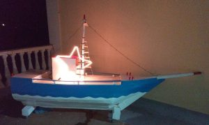 Greek Holiday Model Boat