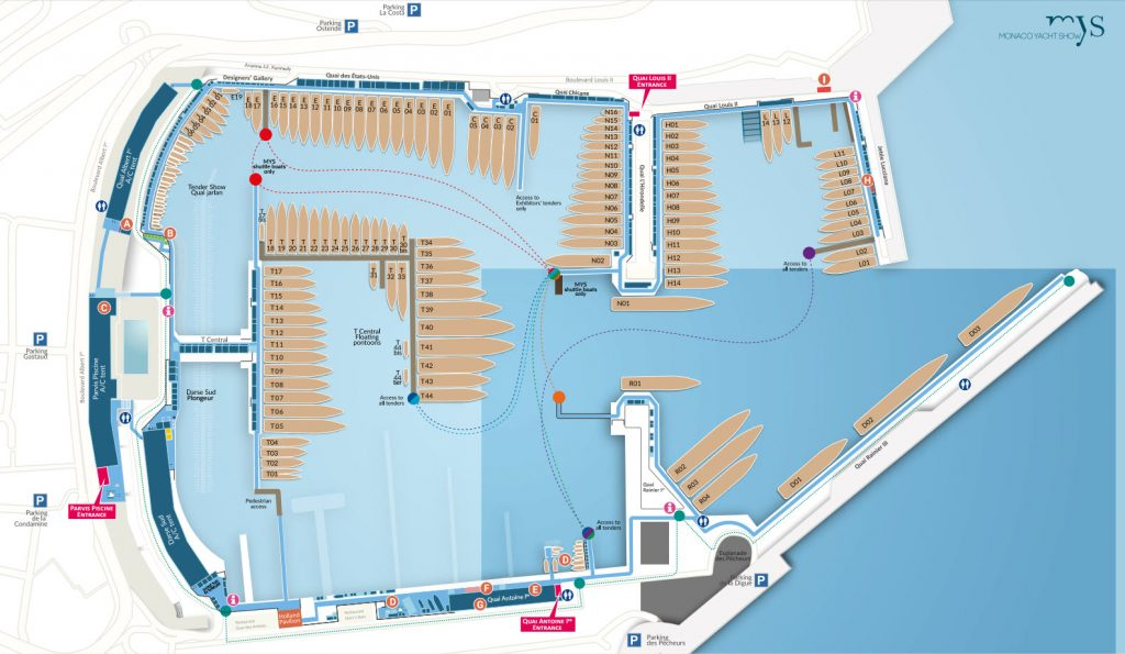 MYS Show Map